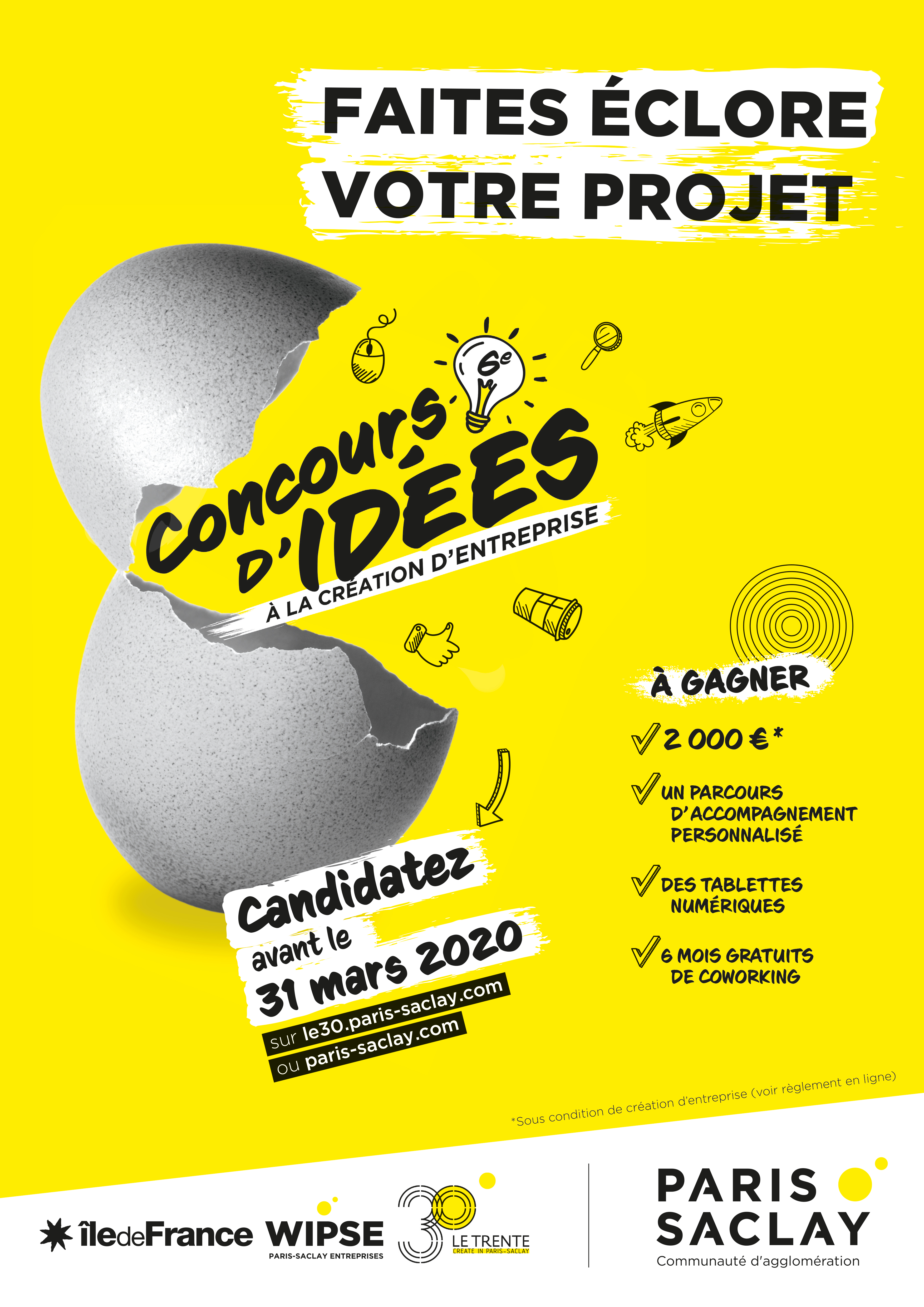 affiche A3 concours idees 2020 stc
